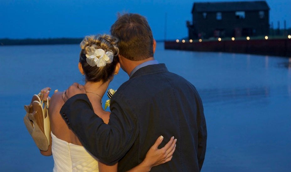 Drummond Island, bring Bob along for your destination Wedding.